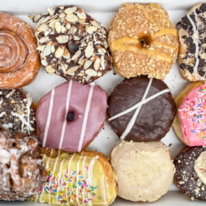 order a mix of dozen donuts