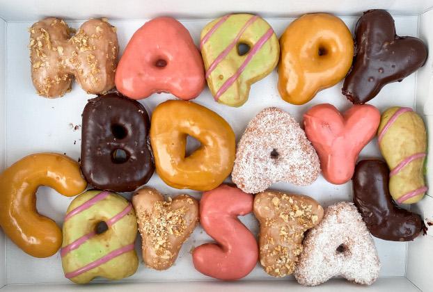 Order Letter Donuts